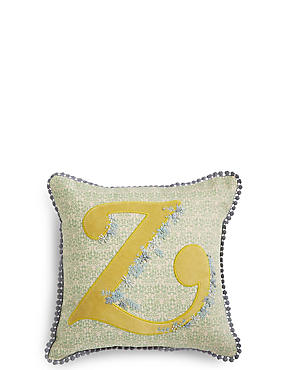Alphabet Z Cushion, , catlanding
