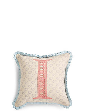 Alphabet I Cushion, , catlanding