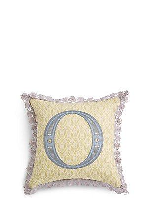 Alphabet O Cushion, , catlanding