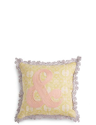 Ampersand Cushion, , catlanding