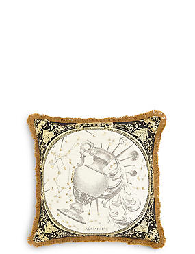 Mini Aquarius Cushion, , catlanding