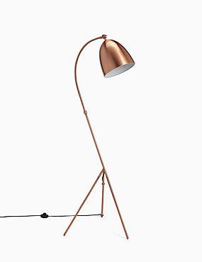 Leaning Tripod Floor Lamp, , catlanding