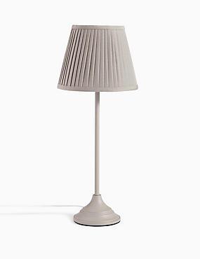 Cosette Stick Table Lamp, GREY, catlanding