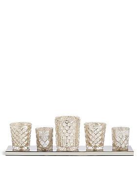 Maeve Tea Light Table Lamp, , catlanding