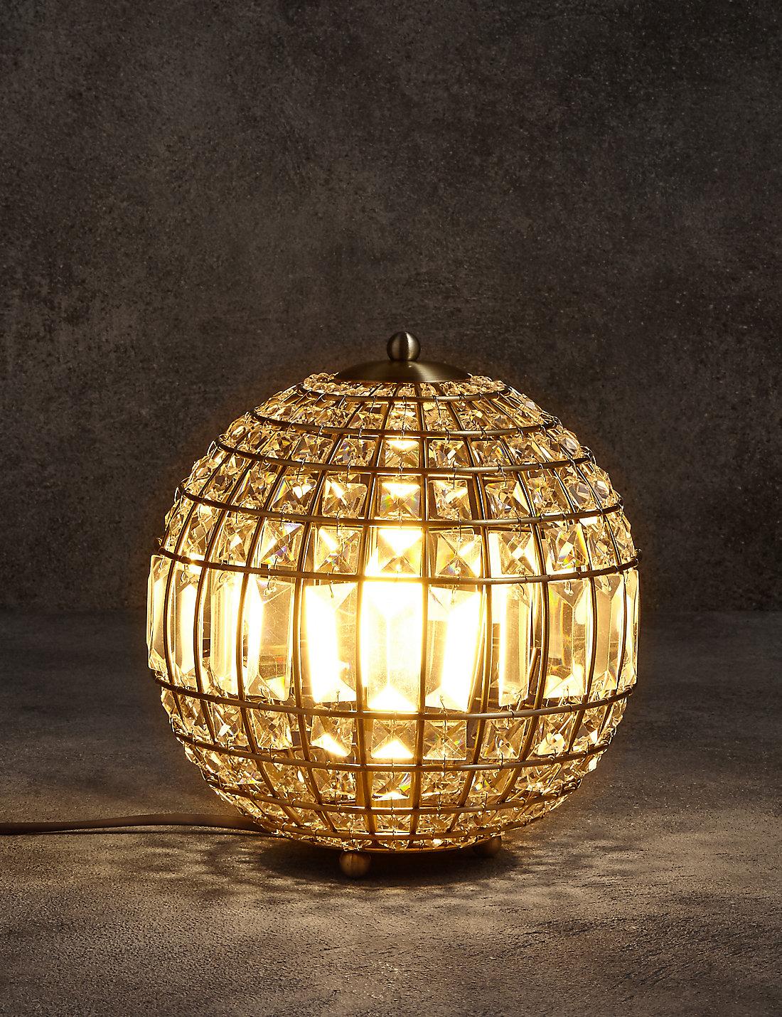 Gem Ball Table Lamp
