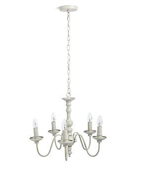 Beth Bare 5 Light Chandelier, , catlanding