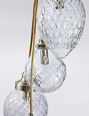 Rhianne Cut Glass 5lt Cluster, , catlanding