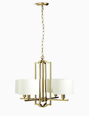 Stella 4 Light Chandelier, , catlanding