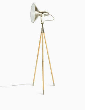 Jenson Floor Lamp, NATURAL, catlanding