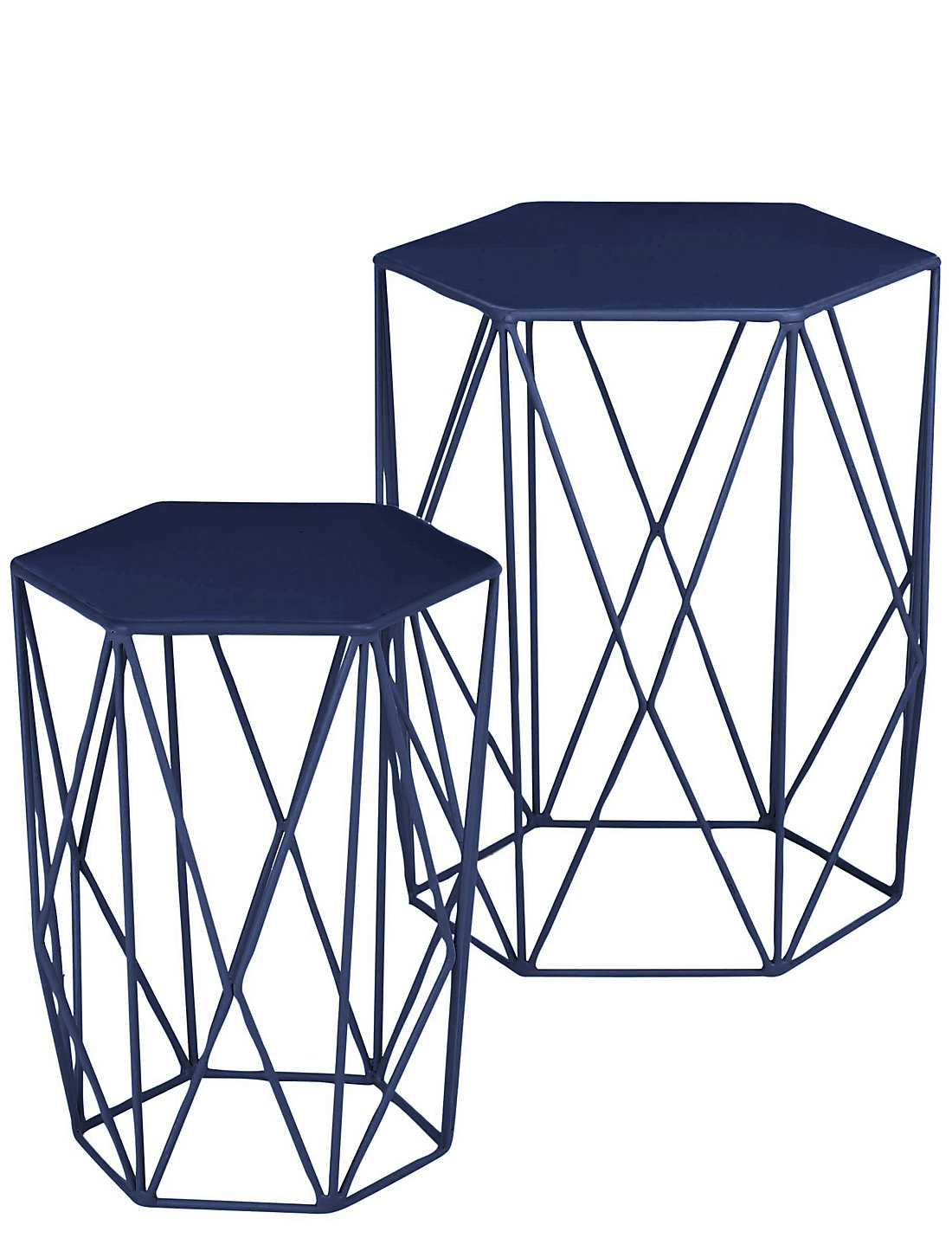 Wire nest of tables navy ms wire nest of tables navy geotapseo Choice Image
