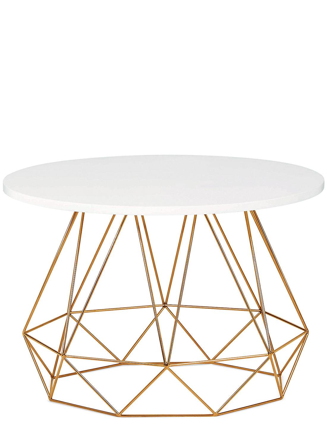 lena copper coffee table