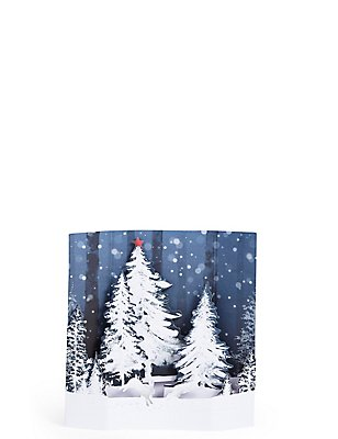 Winter Scene Multilayered Pop Up Christmas Charity Cards Pack of 6, , catlanding