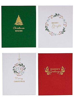 Merry Icons Christmas Charity Cards Pack of 20, , catlanding