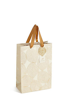 Gold Leaf Medium bag, , catlanding