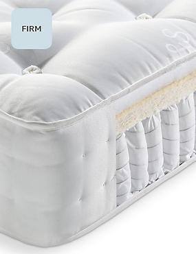 Natural 1250 Firm Mattress, WHITE, catlanding