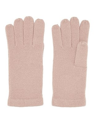 Cashmilon™ Knitted Gloves, PALE PINK, catlanding