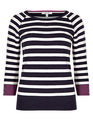 Pure Cashmere Striped Jumper Clothing