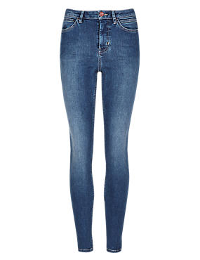 Roma Rise Denim Jeggings