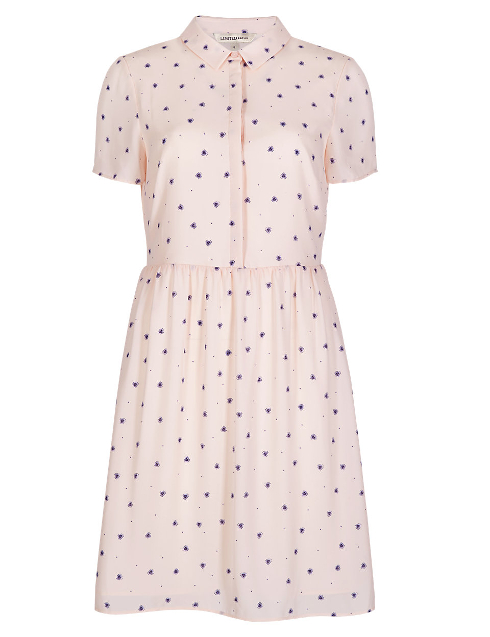 No Peep™ Heart Print Shift Dress £45