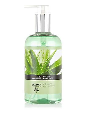 Aloe Vera Hand Wash 300ml, , catlanding