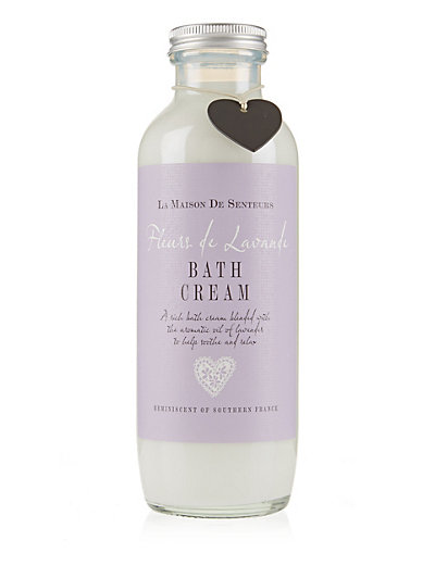 Fleurs de Lavander Bath Cream 500ml Home