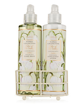 Lily of the Valley Hand Wash & Lotion Set