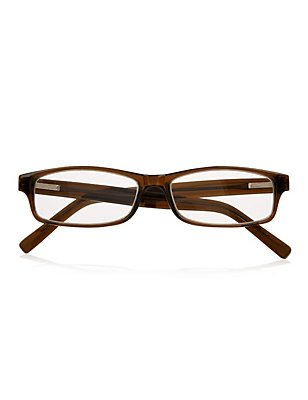 Oval Frame Reading Glasses, OLIVE, catlanding