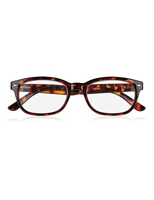 Tortoiseshell Reading Glasses , BROWN MIX, catlanding