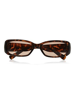 Large Mock Tortoiseshell Reading Sunglasses, BROWN MIX, catlanding