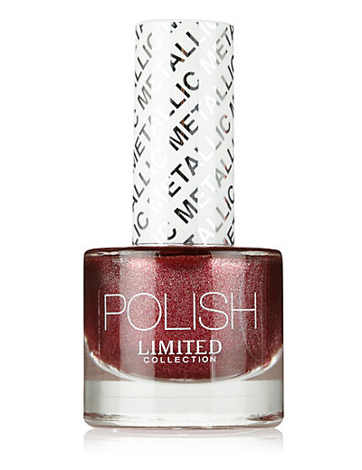 Glitter Metallic Nail Polish 8ml Home