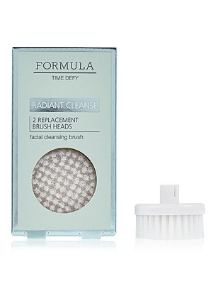 Radiant Cleanse Facial Cleansing Replacement Brush Heads, , catlanding