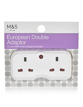 Double Europe Adaptor, , catlanding