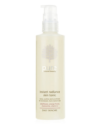Pure Daily Skincare Instant Radiance Skin Tonic 200ml Home