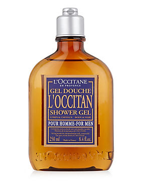 Shower Gel 250ml, , catlanding