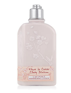 Cherry Blossom Shimmering Lotion 250ml, , catlanding