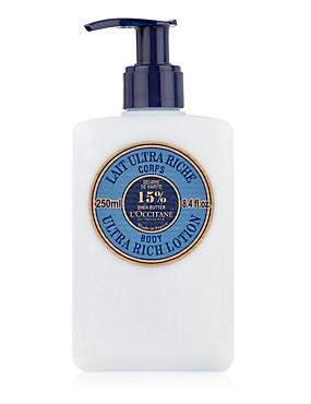 Shea Butter Ultra Rich Body Lotion 250ml, , catlanding
