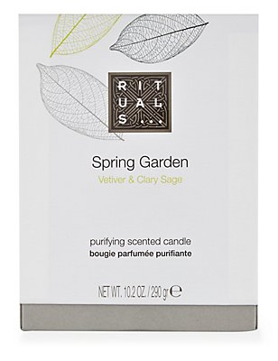 Spring Garden Scented Candle 290g, , catlanding