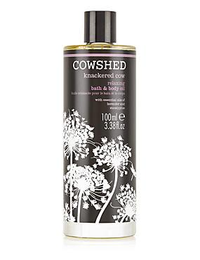 Knackered Cow Bath & Body Oil 100ml, , catlanding
