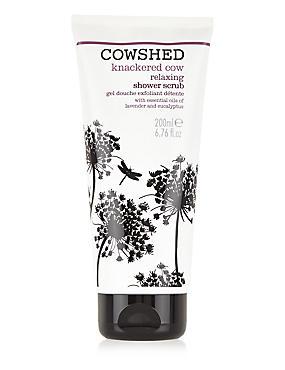 Knackered Cow Shower Scrub 200ml, , catlanding