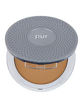 4-in-1 Pressed Mineral Make Up Compact 8g, BLUSH, catlanding