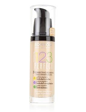 123 Perfect Foundation 30ml, LIGHT BEIGE, catlanding