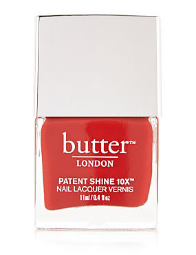 Patent Shine 10X™ 11ml, RED, catlanding
