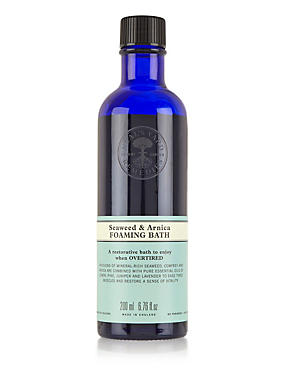 Seaweed & Arnica Foaming Bath 200ml, , catlanding