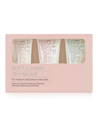 Soft & Shiny Try Me Kit Home
