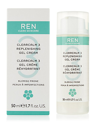 ClearCalm 3 Replenishing Gel Cream 50ml Home