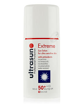 Very High Protection Sun Cream for Ultra Sensitive Skin SPF50+ 100ml