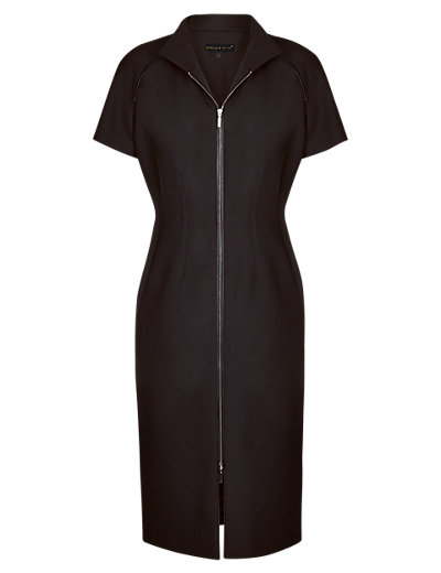 Speziale Zip Through Seam Shift Dress Clothing
