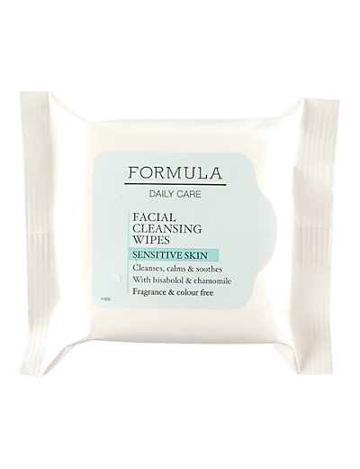 Daily Care Facial Cleansing Wipes for Sensitive Skin Home