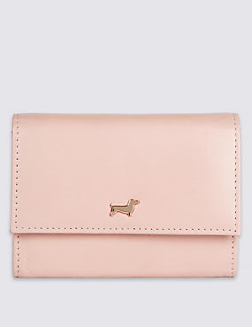 Leather Purse with Cardsafe™, , catlanding