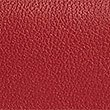 Leather Grainy Purse with Cardsafe™, RED, swatch